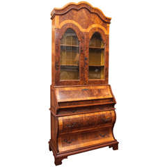 19th Century French Marquetry  Secretary