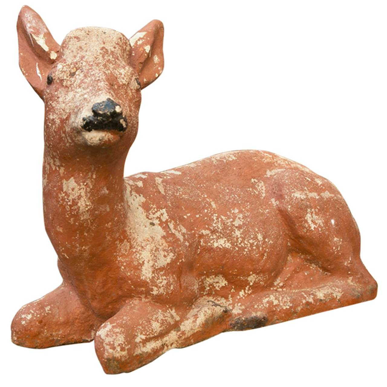 Adorable Small Reclining Deer 1