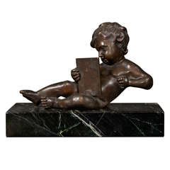 Late 18th Century French Bronze Sculpture from the Estate of Brooke Astor