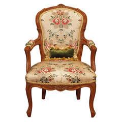 19th c louis xv style giltwood gondola form chaise longue - Chaise longue fauteuil ...