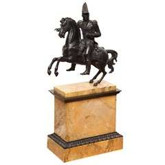 "19th Century Bronze of the ""Count de Beauharnais""."