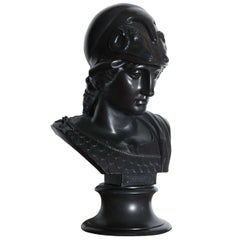 19th Century Wedgwood Bust of Minerva, Repairs