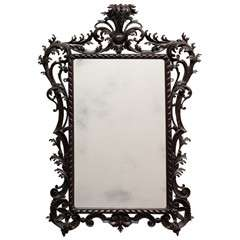 Late 18th Century Carved Mirror