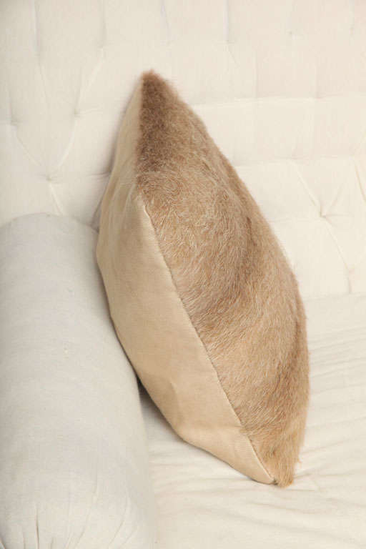 Vintage Fur Decorative Pillow 3