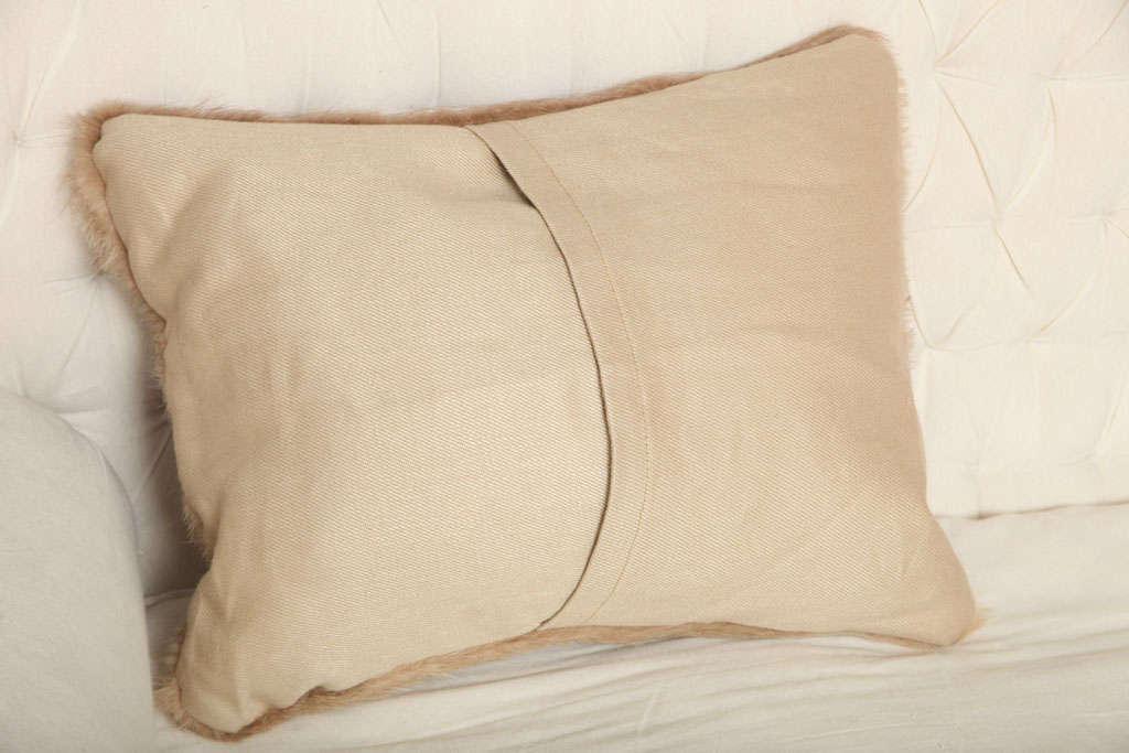 Vintage Fur Decorative Pillow 4