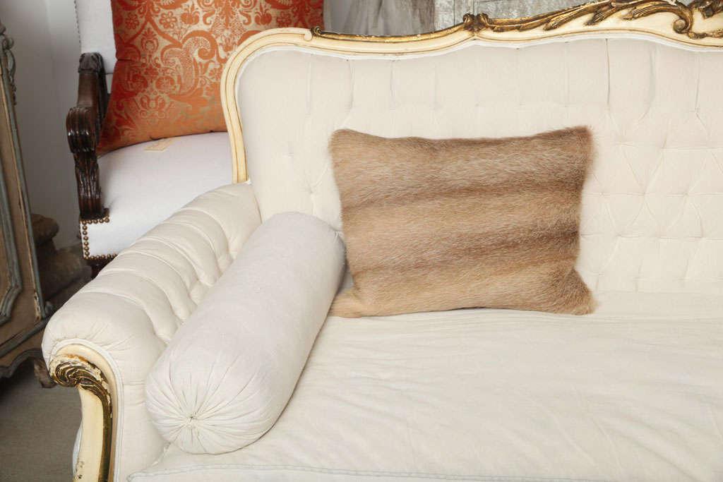 Vintage Fur Decorative Pillow 6