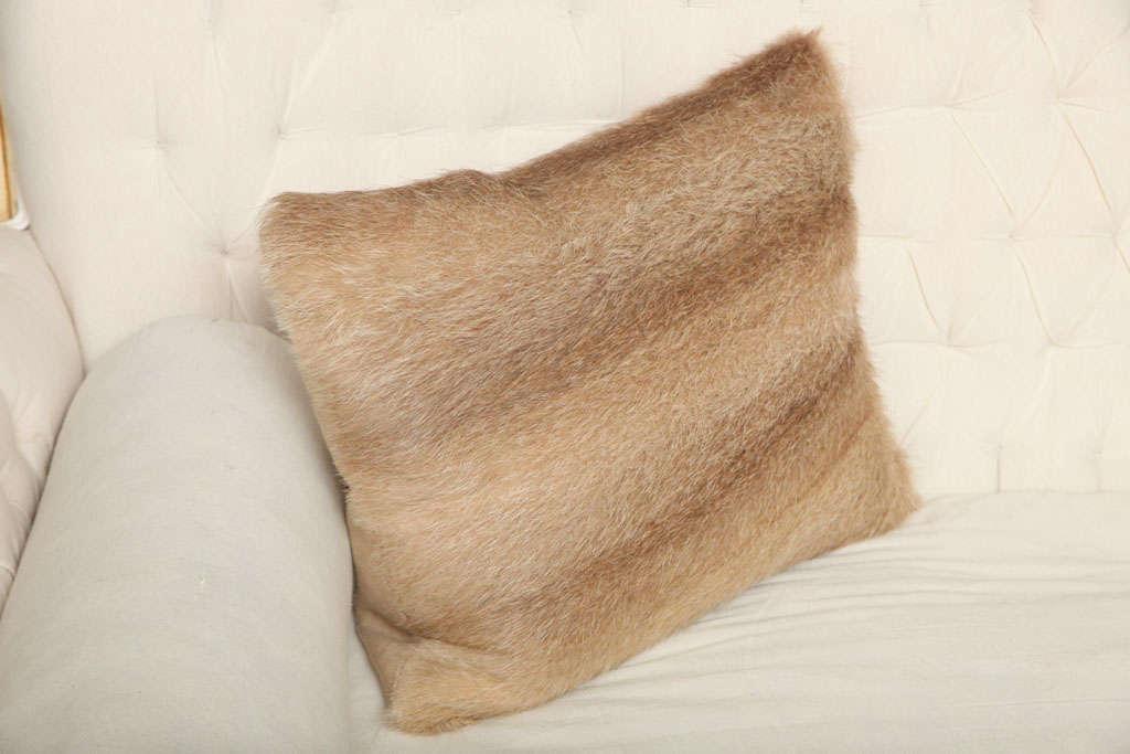 Vintage Fur Decorative Pillow 2