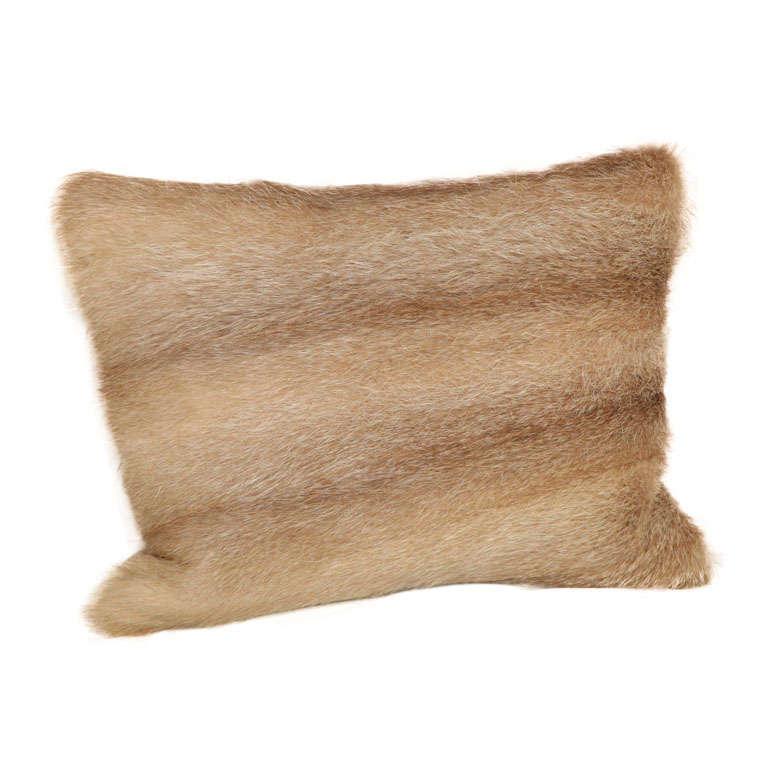 Vintage Fur Decorative Pillow 1