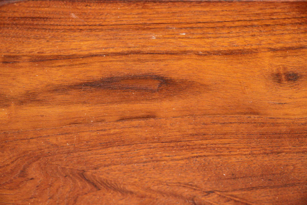 Mid-Century Modern Danish Teak Serving Tray by Digsmed For Sale