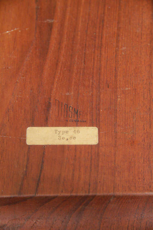 Mid-20th Century Danish Teak Serving Tray by Digsmed For Sale