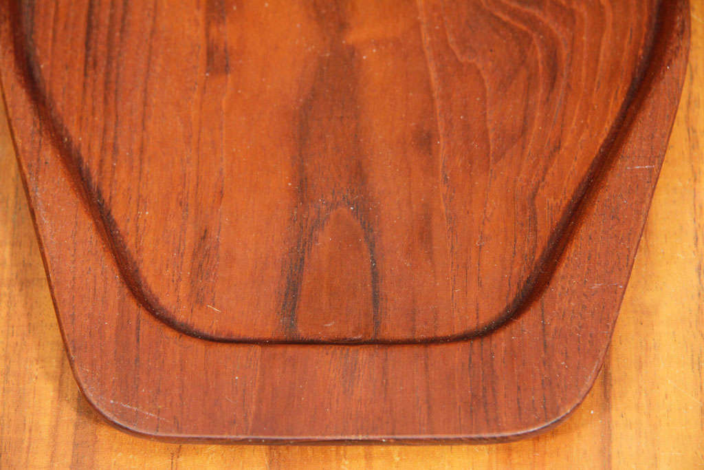 Danish Teak Serving Tray by Digsmed For Sale 3