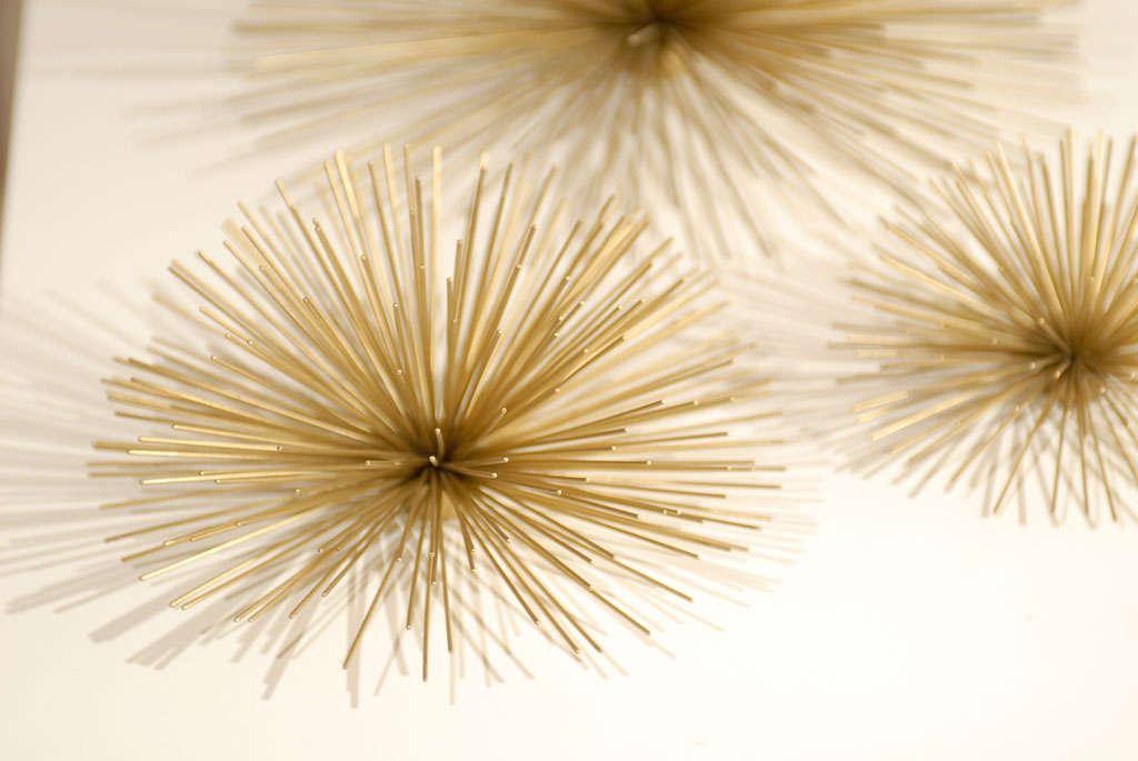 Metal Urchin Wall Decor : Metal sea urchin at stdibs