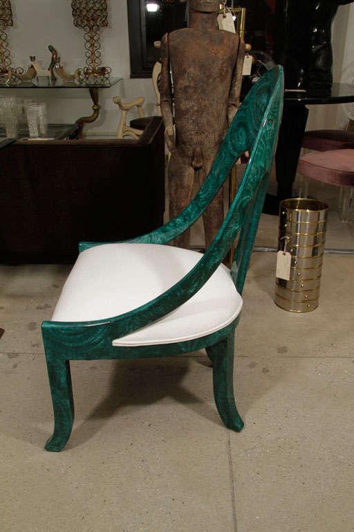 Pair Malachite Chairs 2