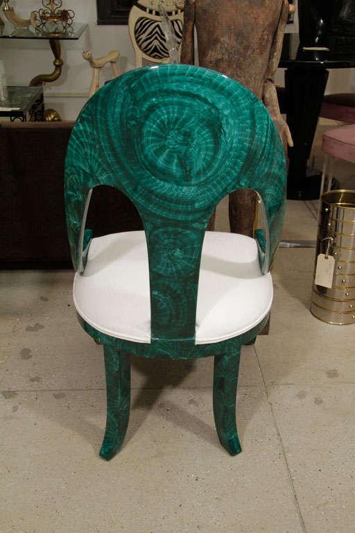 Pair Malachite Chairs 3