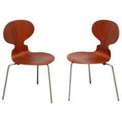 Pr. Early Series Arne Jacobsen Ant Chairs