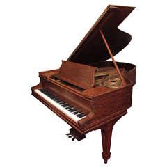 """Steinway 6' 2"""" Ribbon Mahogany Grand Piano"""