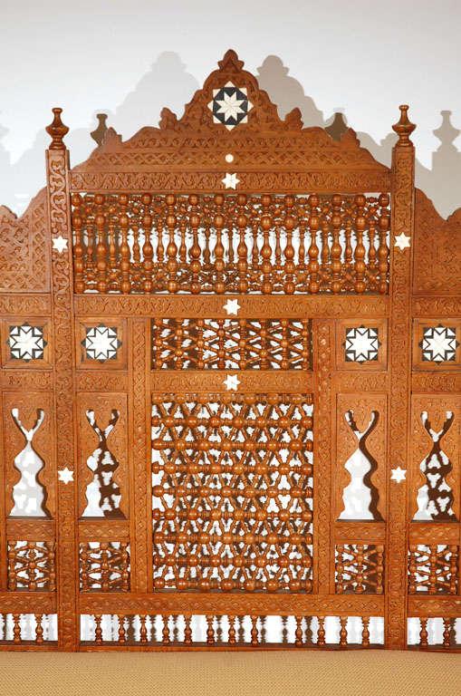 Moorish Syrian Arabian Style Settee 4