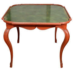 19th century French card table