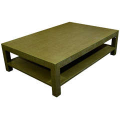 Green Coffee Table