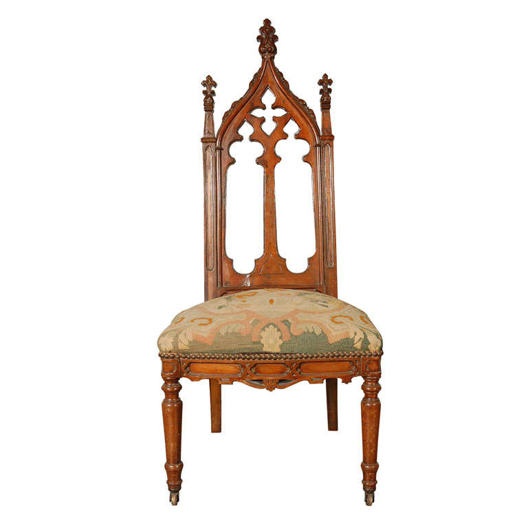 Gothic Style Hall Chair
