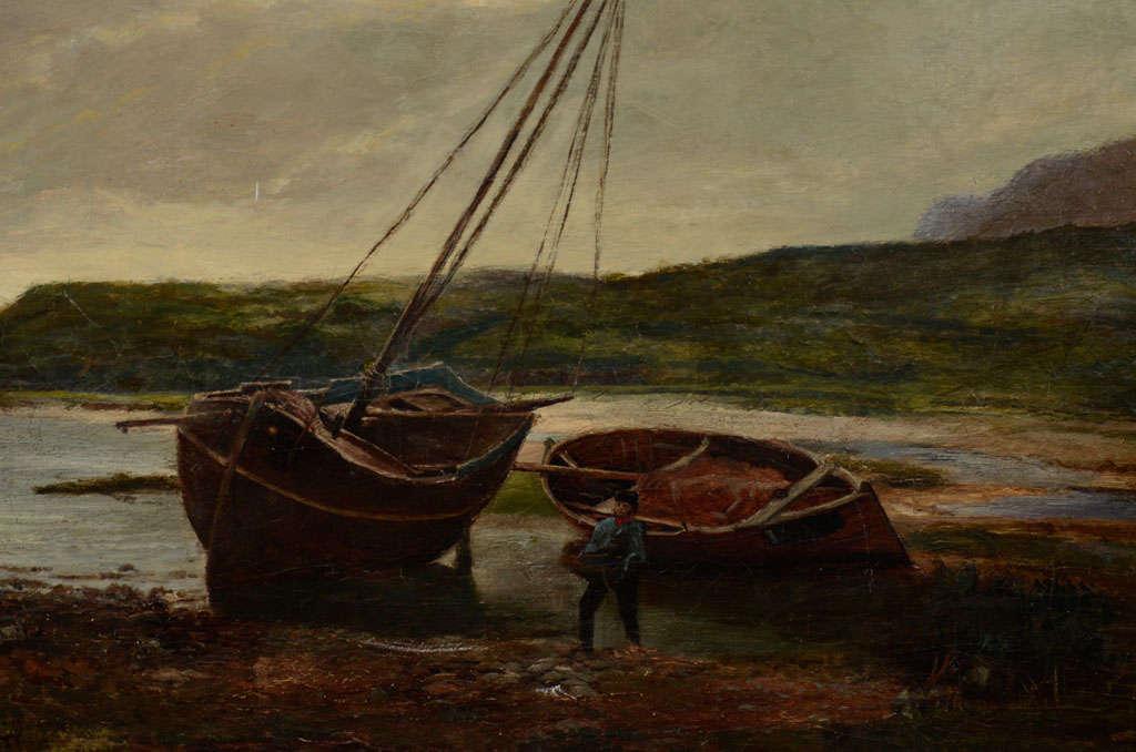 Scottish 19th Century Oil on Canvas
