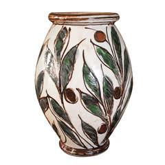 Large Kahler Pottery Vase