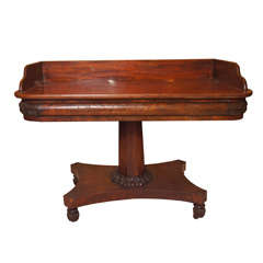 American 19th Century Serving Table