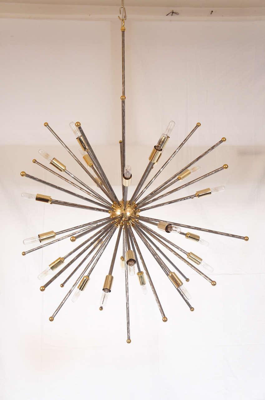 Custom etoile designers original chandelier by lou blass for sale modern custom aloadofball Images