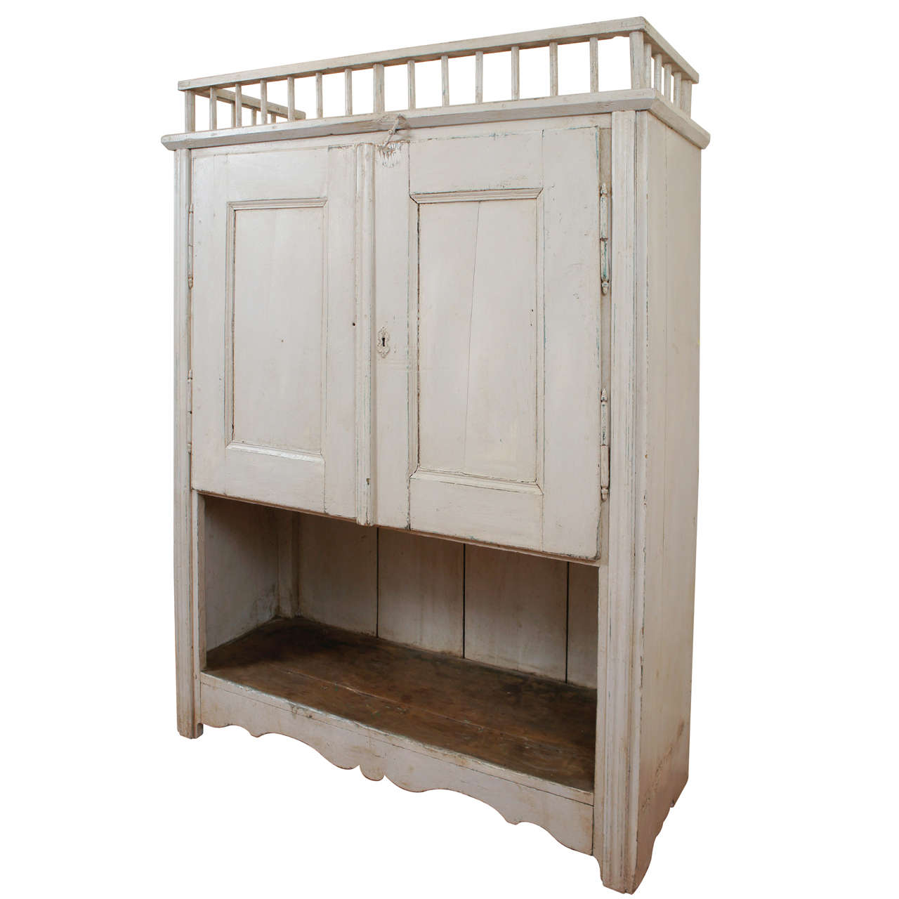 French jam cupboard with gallery at 1stdibs for Sideboard jam