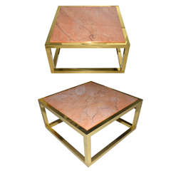 Two 1970s Coffee Tables