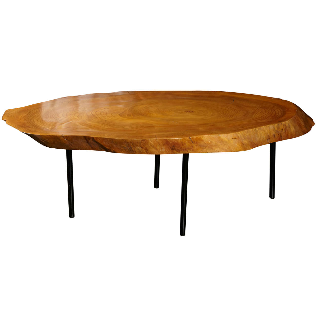 1950 large organic coffee table at 1stdibs Wide coffee table