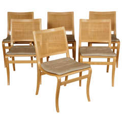 Set of 6 Dining Chairs by Bruno Mathsson