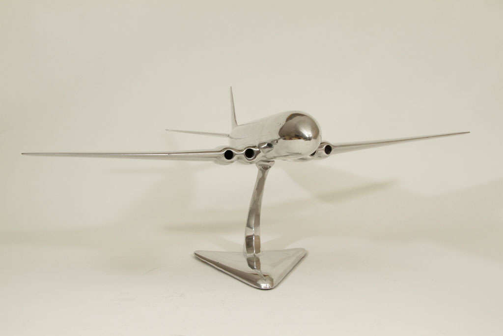 De Havilland Comet Cast Aluminum Airplane Model In Excellent Condition In New York, NY