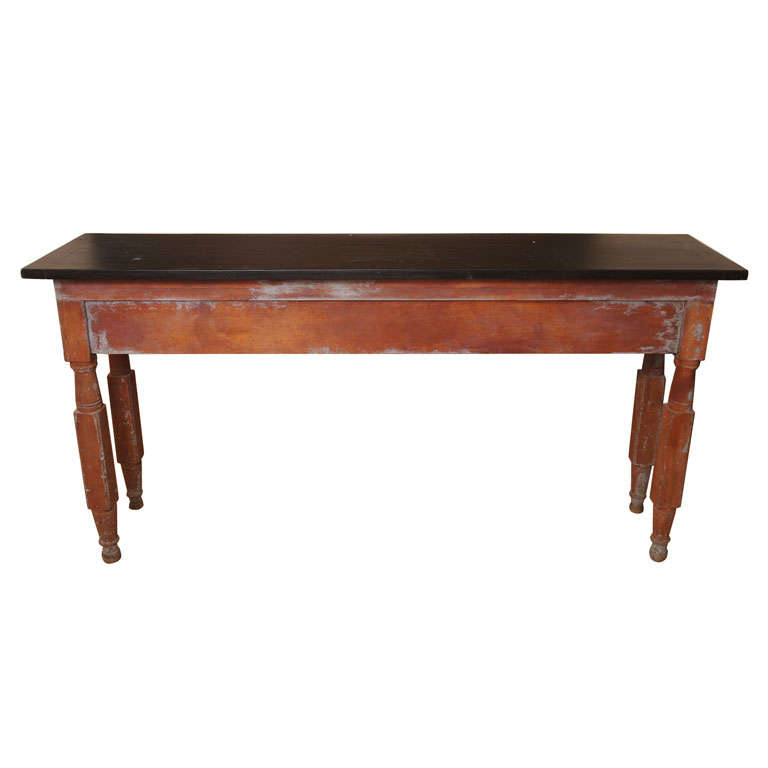 Rustic sofa table at 1stdibs for 5 foot console table