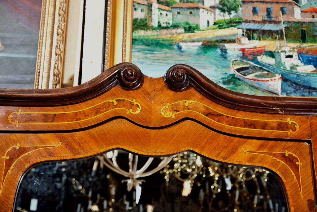 Five Door Antique Italian Wardrobe For Sale at 1stdibs