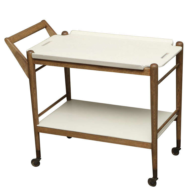 Two-tone Serving Cart
