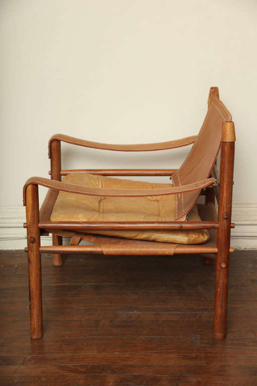 Arne Norell Safari Leather Chair image 3