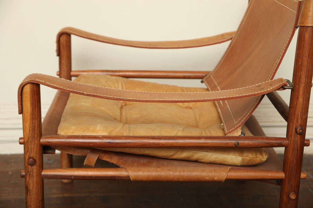 Arne Norell Safari Leather Chair image 6