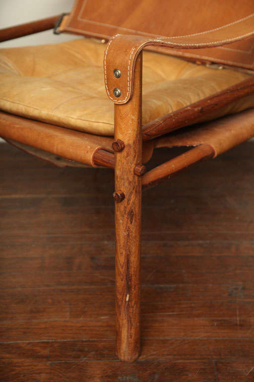 Arne Norell Safari Leather Chair image 8