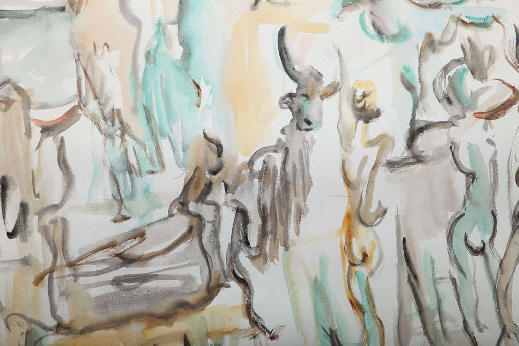 Mid-20th Century Paintings  by John Francis Williams For Sale
