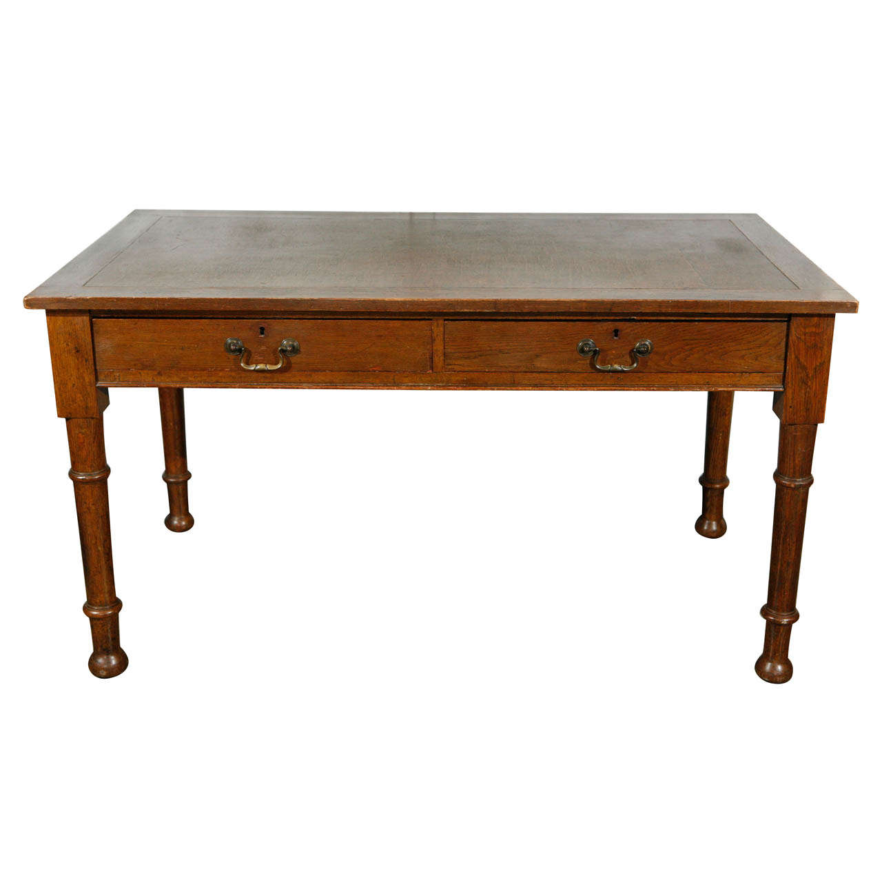 english writing desk 36ʺw × 215ʺd × 385ʺh made with great quality and care in england around the year 1960, this antique style english mahogany writing desk is a well-made and beautiful piece of furniture it will suite any office, study, or other area of the home.