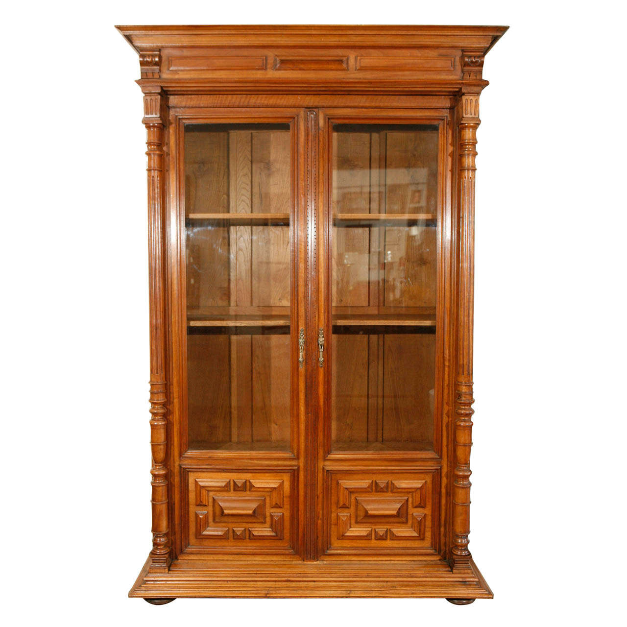 19th c. French Bibliothèque-Bookcase