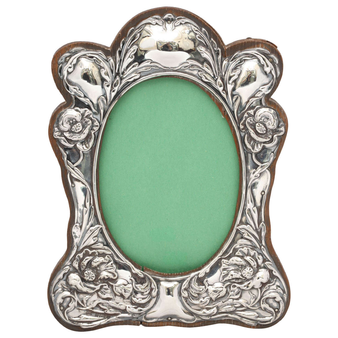 modern art nouveau furniture. Art Nouveau Sterling Silver Picture Frame Modern Furniture