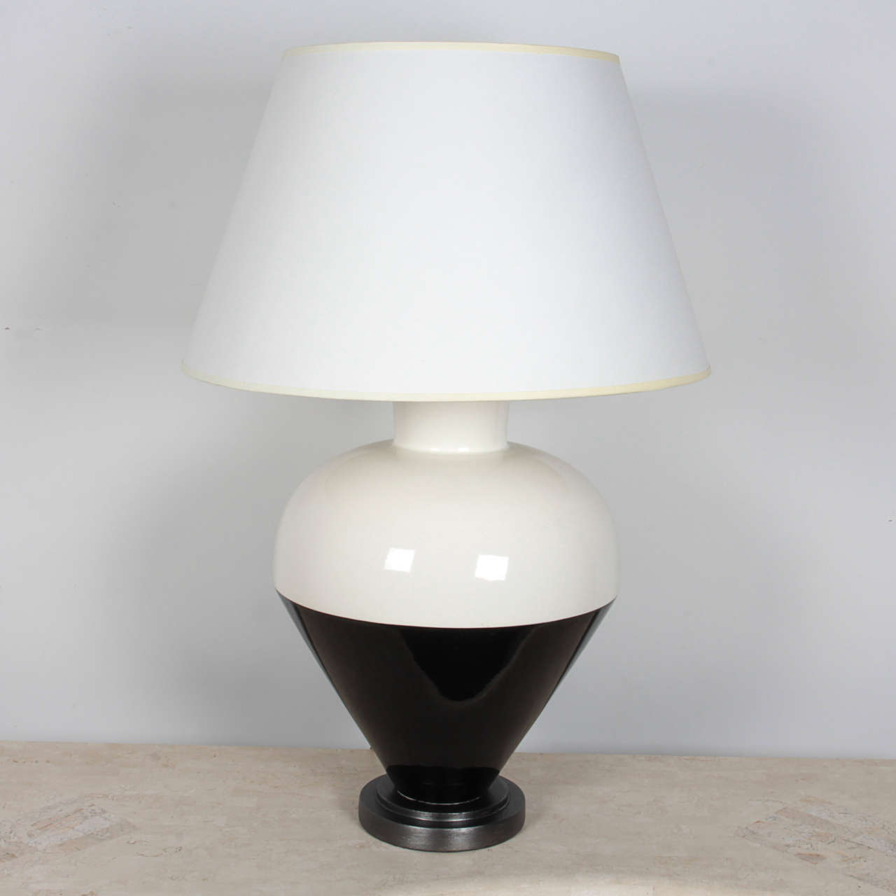 italian black and white ceramic table lamps is no longer available. Black Bedroom Furniture Sets. Home Design Ideas