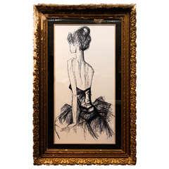 Lifesize Framed Sketch