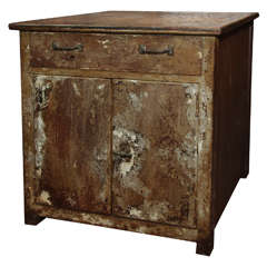 Steel Chest with Patina