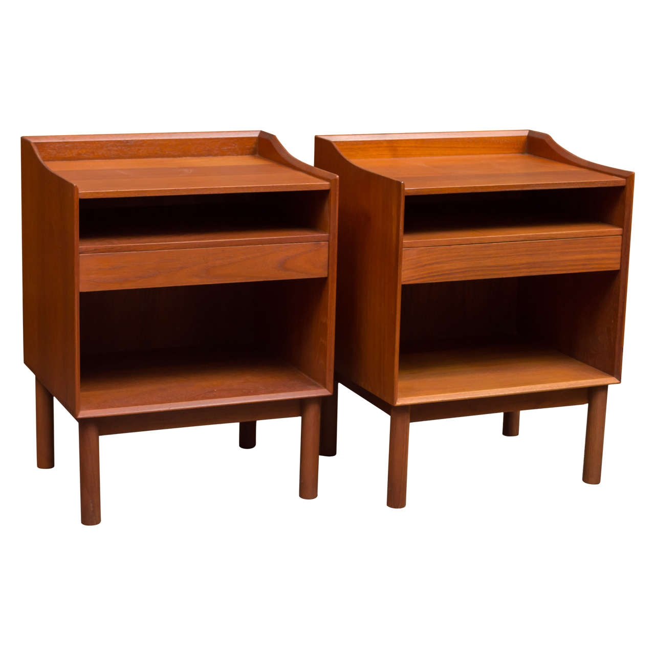 Peter hvidt and olga m lgaard nightstands for sale at 1stdibs for Bedroom furniture 94109