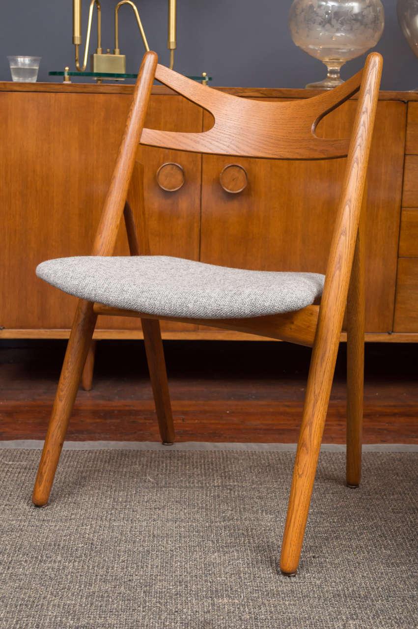 Hans J Wegner Sawbuck Chairs CH29 5