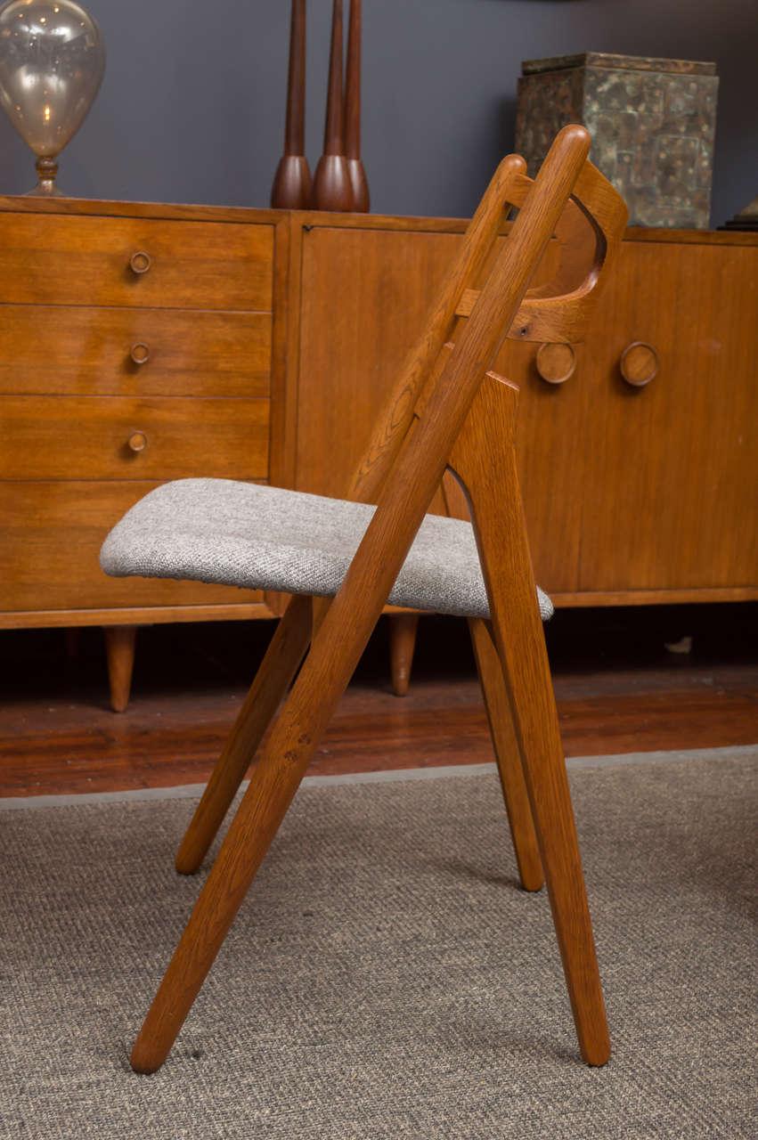 Hans J Wegner Sawbuck Chairs CH29 6