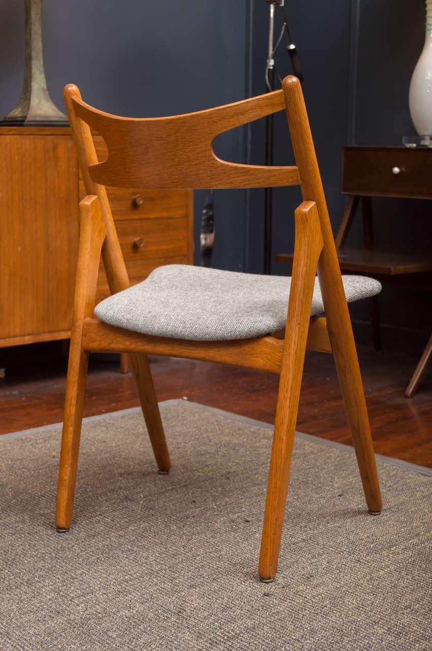 Hans J Wegner Sawbuck Chairs CH29 7